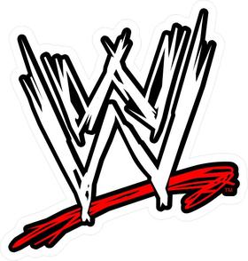 WWE Decal / Sticker 03