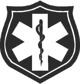 Medical logo Decal / Sticker 02
