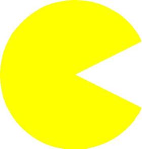 PacMan Decal / Sticker 05