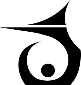 Tribal Decal / Sticker 86