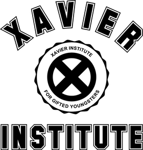 Xavier Institue Decal / Sticker 03