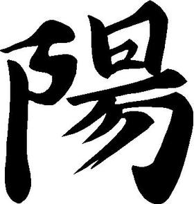 Yang Kanji Decal / Sticker