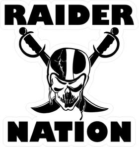 Raider Nation Decal / Sticker 03 [CLONE]