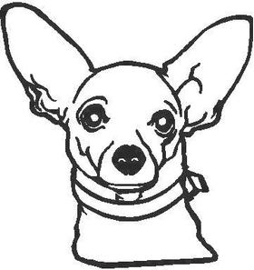 Chihuahua Decal / Sticker