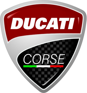 Ducati Corse Decal / Sticker 13