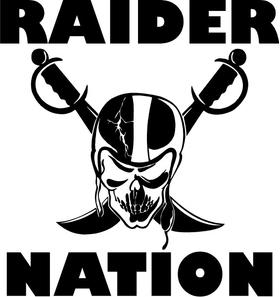Raider Nation Decal / Sticker 04
