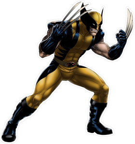 X-men Wolverine Decal / Sticker 09