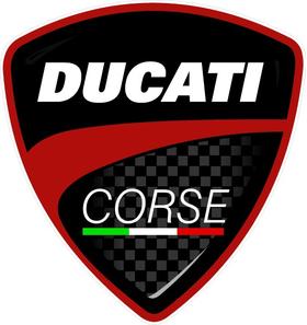 Ducati Corse Decal / Sticker 24
