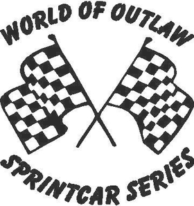 World of Outlaw Sprintcar Series Decal / Sticker