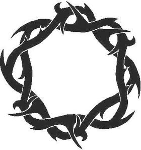 Thorn Tribal Decal / Sticker