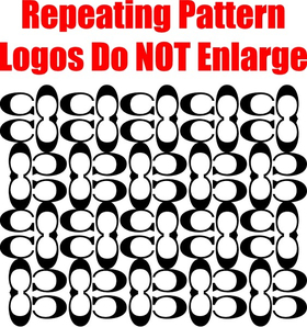 Coach Step and Repeat Pattern Decal / Sticker 05