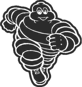 Michelin Man Decal / Sticker