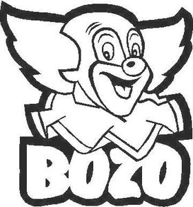 Bozo the Clown Decal / Sticker