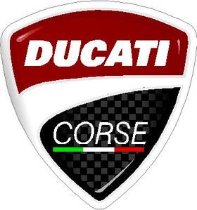 Ducati Corse Decal / Sticker 04