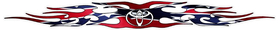 Toyota Rebel / Confederate Flag Tribal Decal / Sticker 02