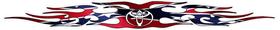 Toyota Rebel / Confederate Flag Tribal Decal / Sticker 02