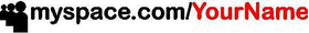 Custom MySpace Decal / Sticker