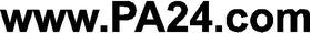www.PA24.com Decal / Sticker