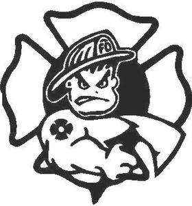 Fireboy Crest Decal / Sticker