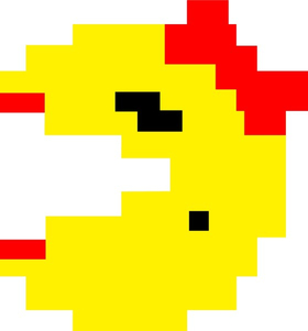 Ms. Pac-Man Decal / Sticker 17