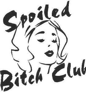 Spoiled Bitch Club Decal / Sticker