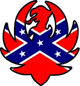 Confederate Flag Hank Williams Jr. Decal / Sticker 09