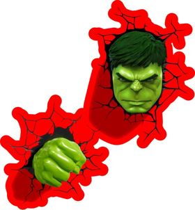 Hulk Cracks Decal / Sticker 15