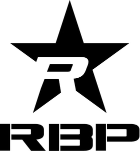 Rolling Big Power RBP Star Decal / Sticker 08