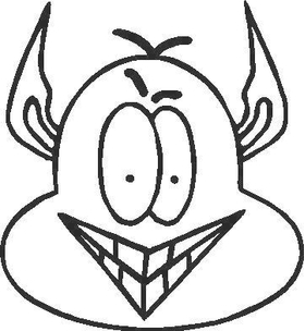 Cartoon 227 Decal / Sticker
