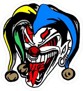 Joker Decal / Sticker 04