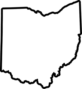Ohio Decal / Sticker 02
