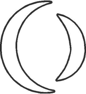 Perfect Circle Decal / Sticker 04