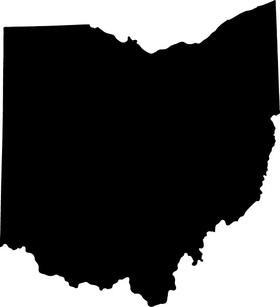 Ohio Decal / Sticker 01