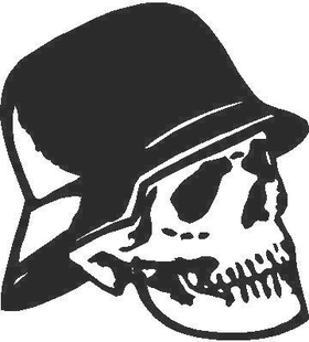Skull Decal / Sticker 03