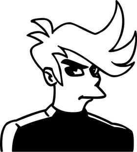 Fry Decal / Sticker 02