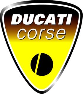 Ducati Corse Decal / Sticker 17