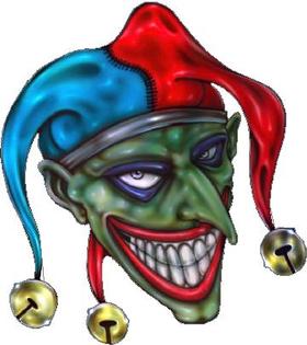 Joker Decal / Sticker 02