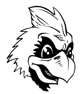 Cardinals Mascot Decal / Sticker 4