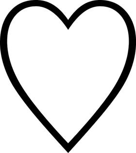 Heart Decal / Sticker 08
