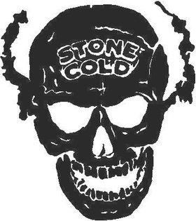 Stone Cold Skull  Decal / Sticker