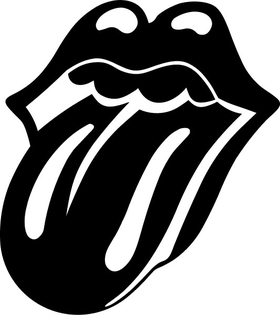 Rolling Stones Tongue Decal / Sticker