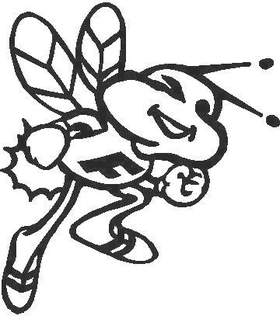 Bee decal / sticker