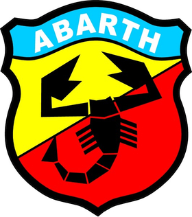 Fiat Abarth Decal / Sticker 29