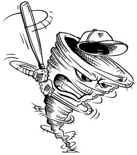 Storm Mascot Decal / Sticker 3