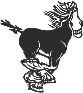 Horse Decal / Sticker 05