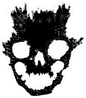 Halo Emile Skull Helmet Decal / Sticker 11