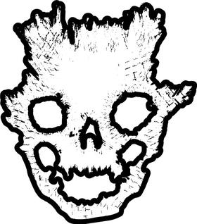 Halo Emile Skull Helmet Decal / Sticker 13