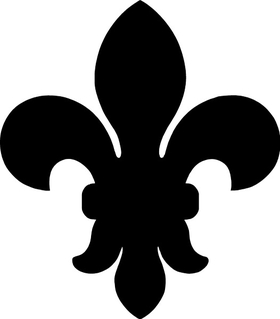 Fleur-De-Lis Decal / Sticker 05