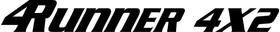 Toyota 4runner Decal / Sticker 04
