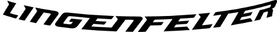 Curved Lingenfelter Decal / Sticker 08